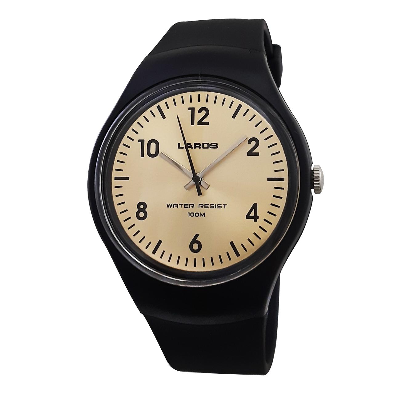 کد تخفیف                                      ساعت مچی عقربه ای لاروس کد 1217-aq1066a