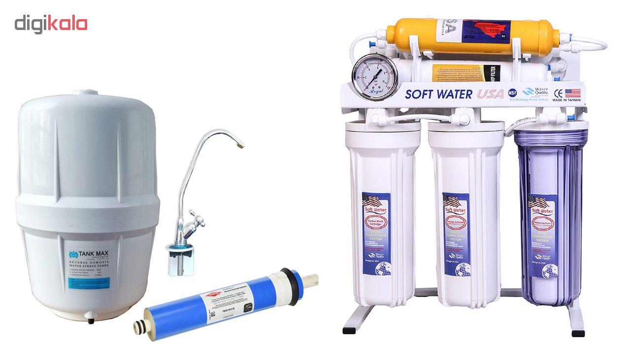 دستگاه تصفیه کننده آب سافت واتر مدل N-E RO7_ORP