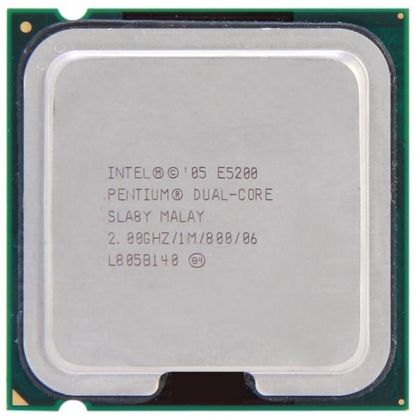 پردازنده مرکزی اینتل سری Core مدل E5200