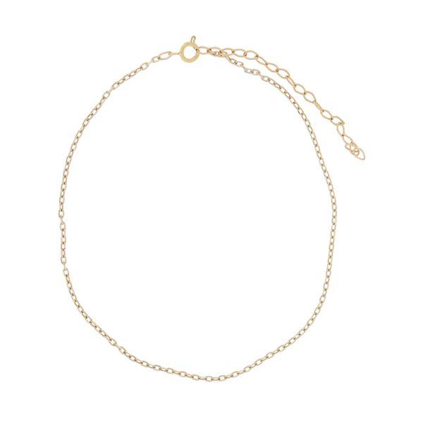 پابند طلا 18 عیار زنانه مدل ساناز کد AG-003
