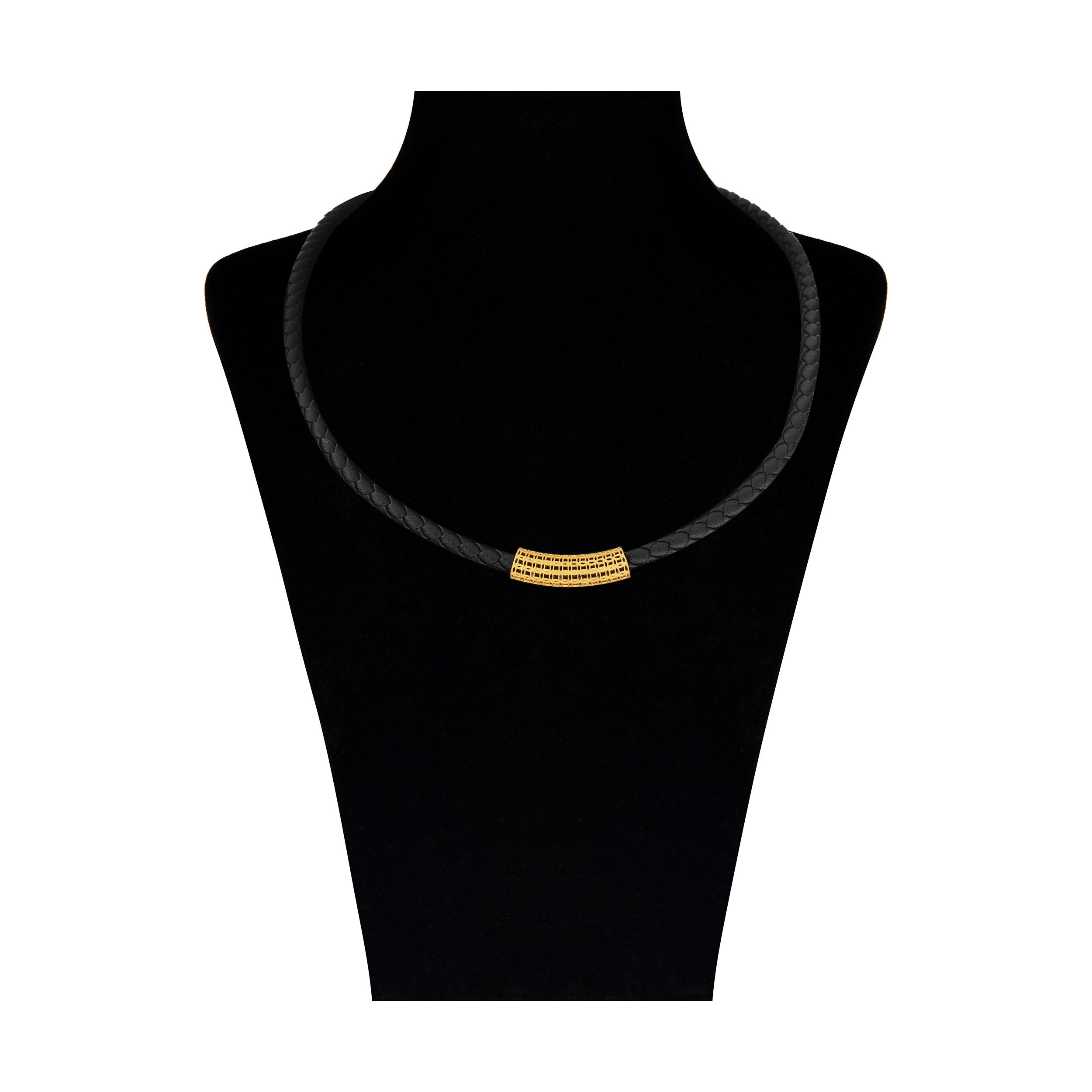 گردنبند طلا 18 عیار زنانه کد NL-008