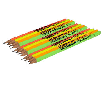 مداد آریا مدل فلورسنت مجموعه 12 عددی
