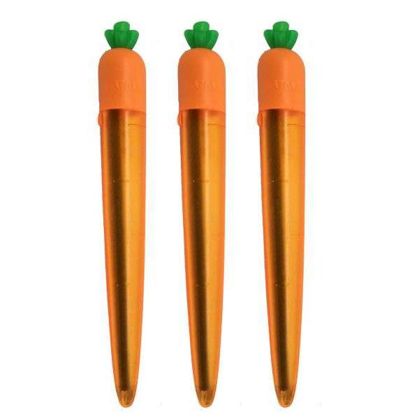 نوک مداد نوکی 0.5 میلی متری طرح هویج مدل yz3313 بسته 3 عددی