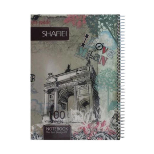 دفتر 100 برگ شفیعی کد k200