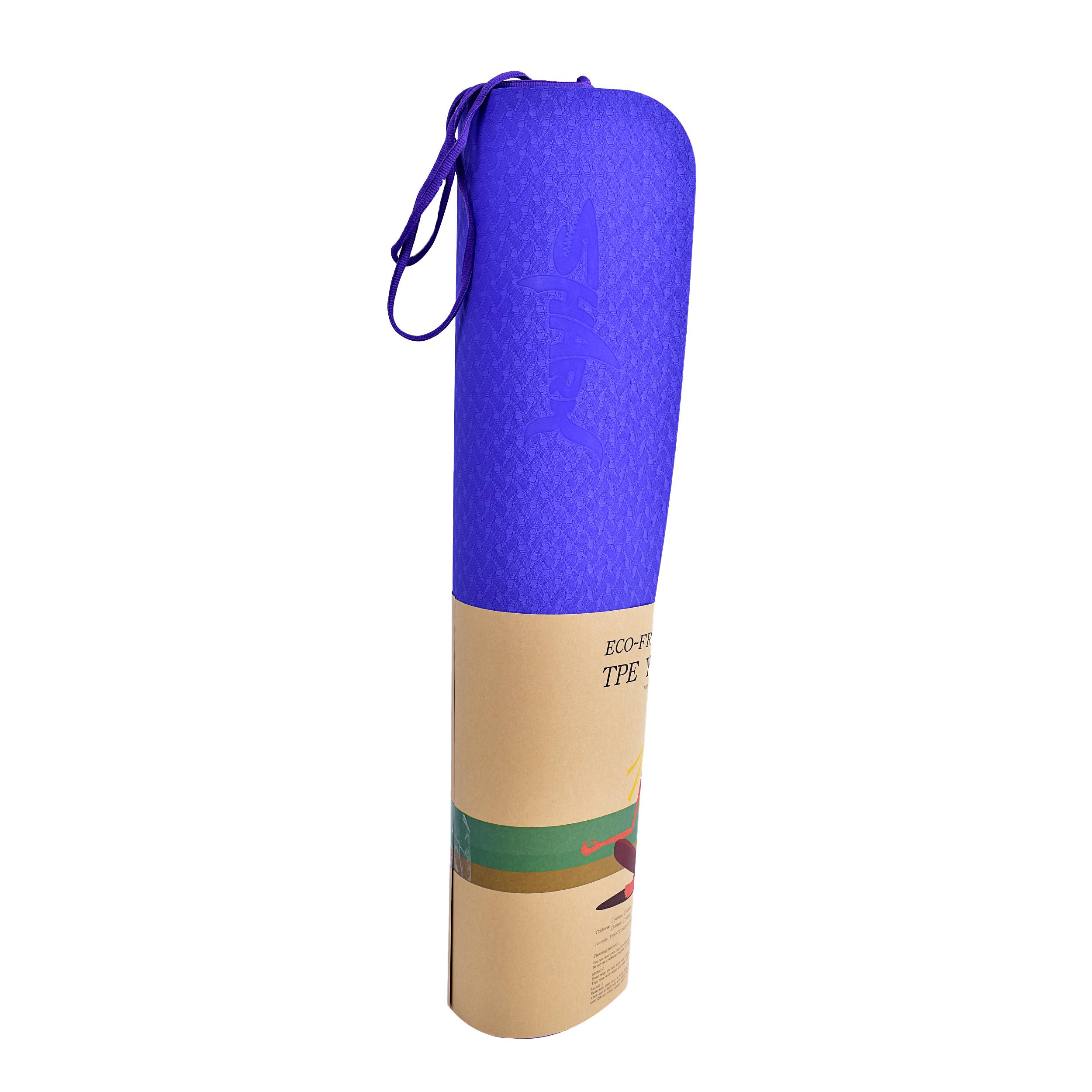 زیرانداز یوگا شارک مدل MTPE001-B ضخامت 6 میلی متر