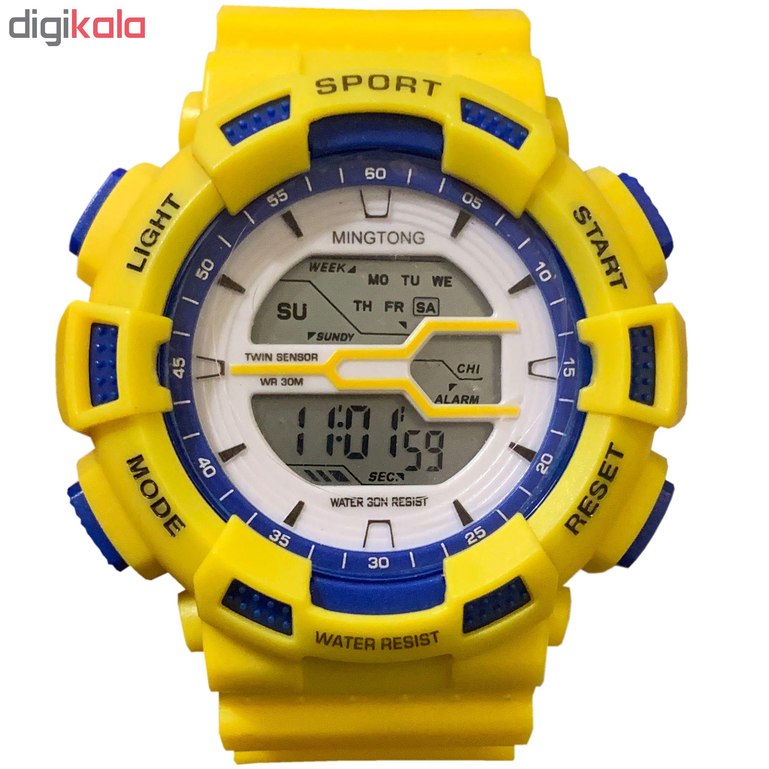 ساعت مچی دیجیتال مردانه کد B3             قیمت