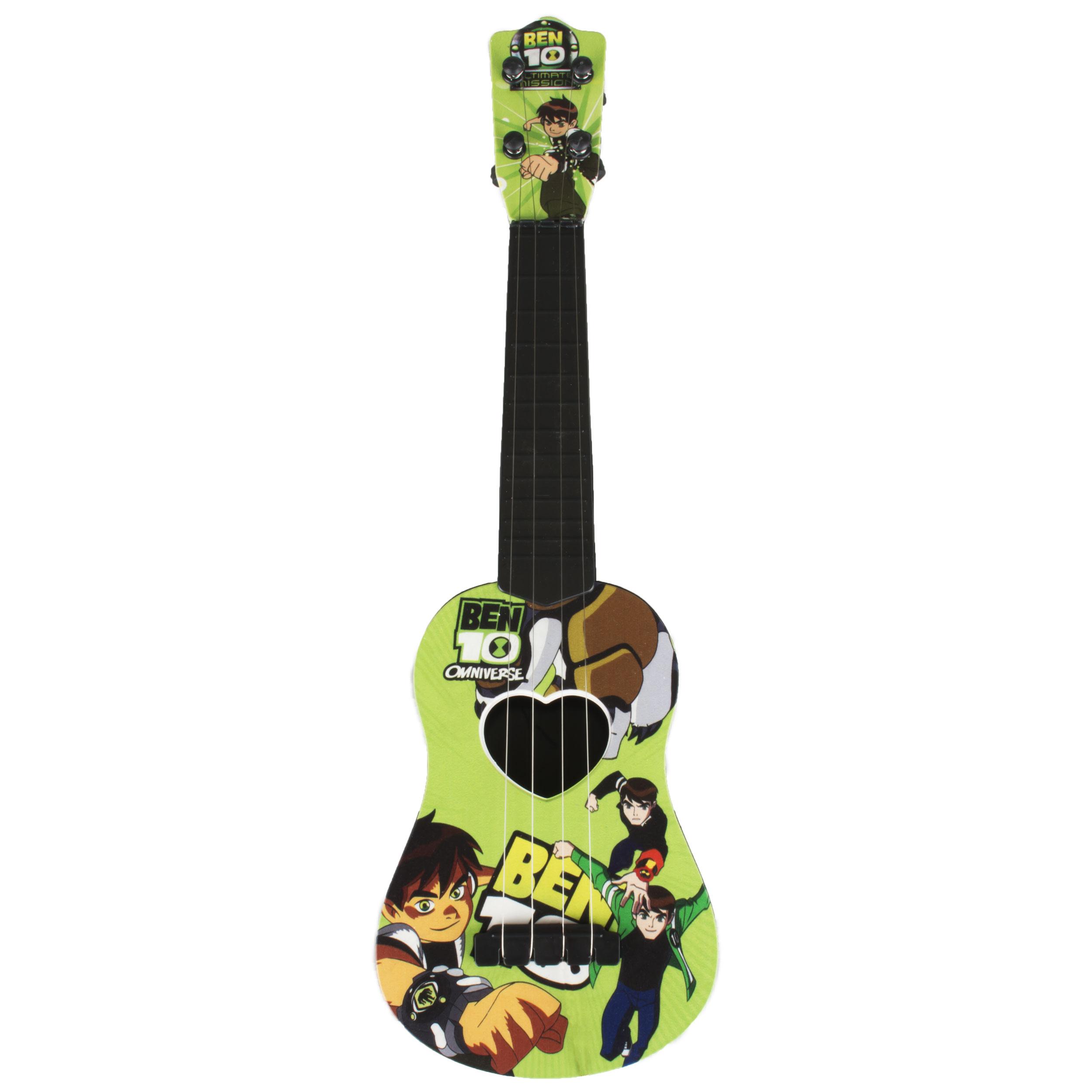 خرید                     گیتار اسباب بازی میوزیک گیتار مدل 890 طرح Ben 10