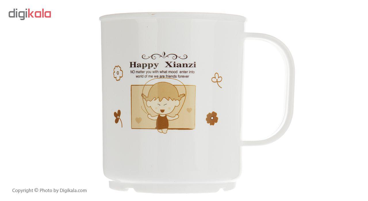 لیوان طرح Happy Xianzi
