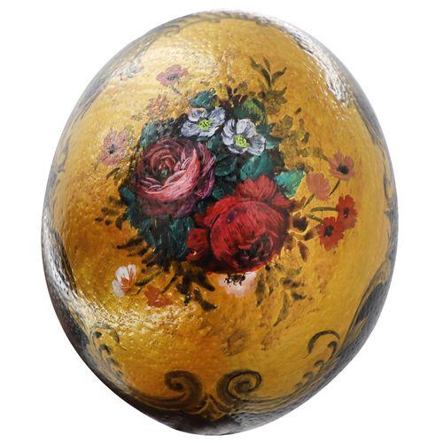 تخم شتر مرغ تزیینی مدل pa303