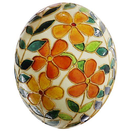 تخم شتر مرغ تزیینی مدل vi301