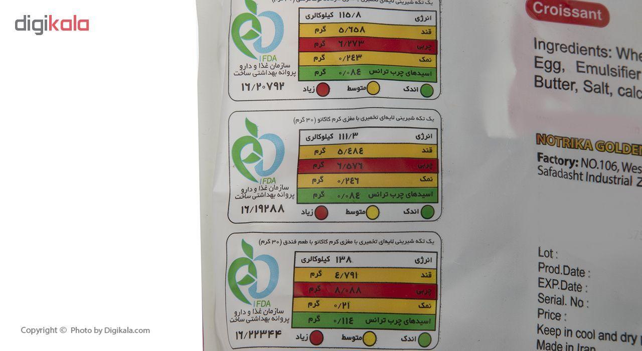 کروسان کاکائو پچ پچ مقدار 30 گرمی بسته 9 عددی main 1 3
