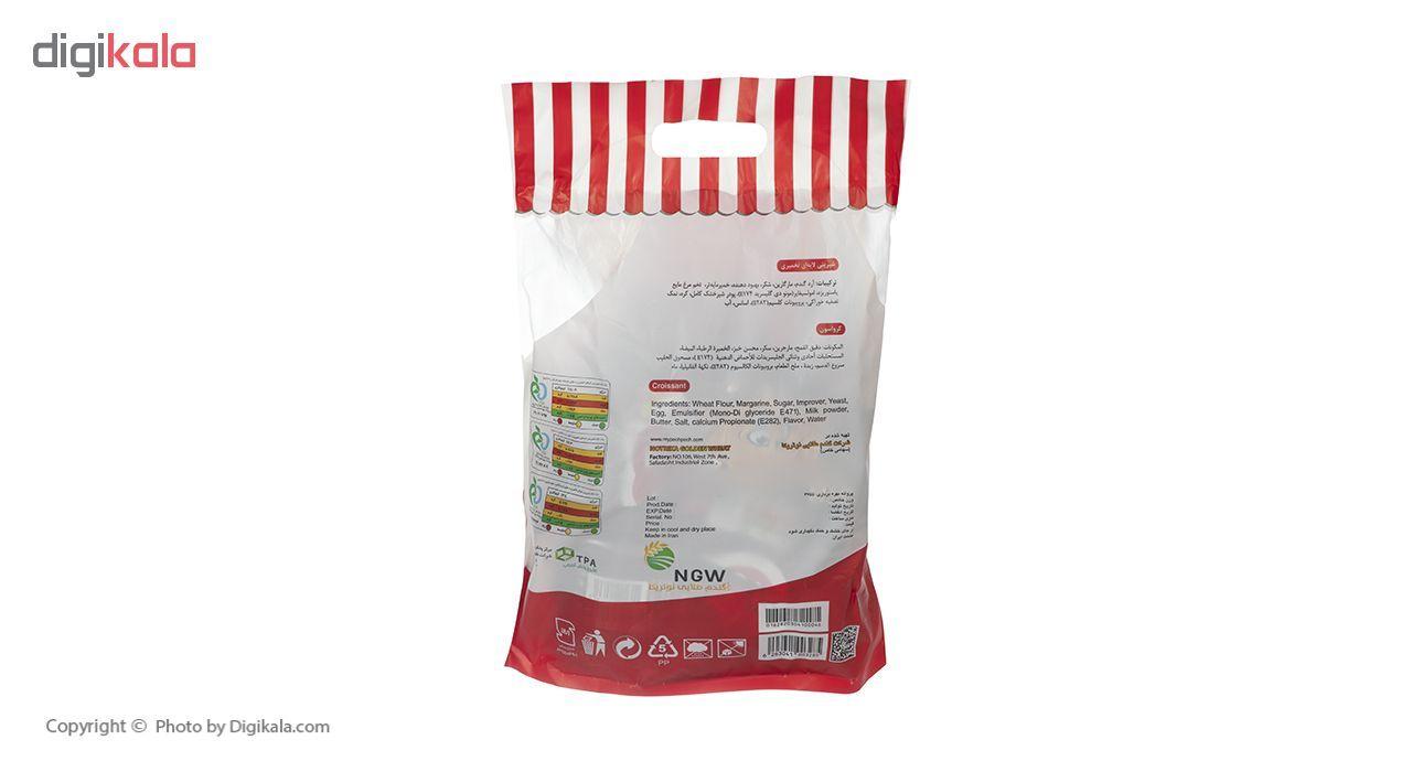 کروسان کاکائو پچ پچ مقدار 30 گرمی بسته 9 عددی main 1 2