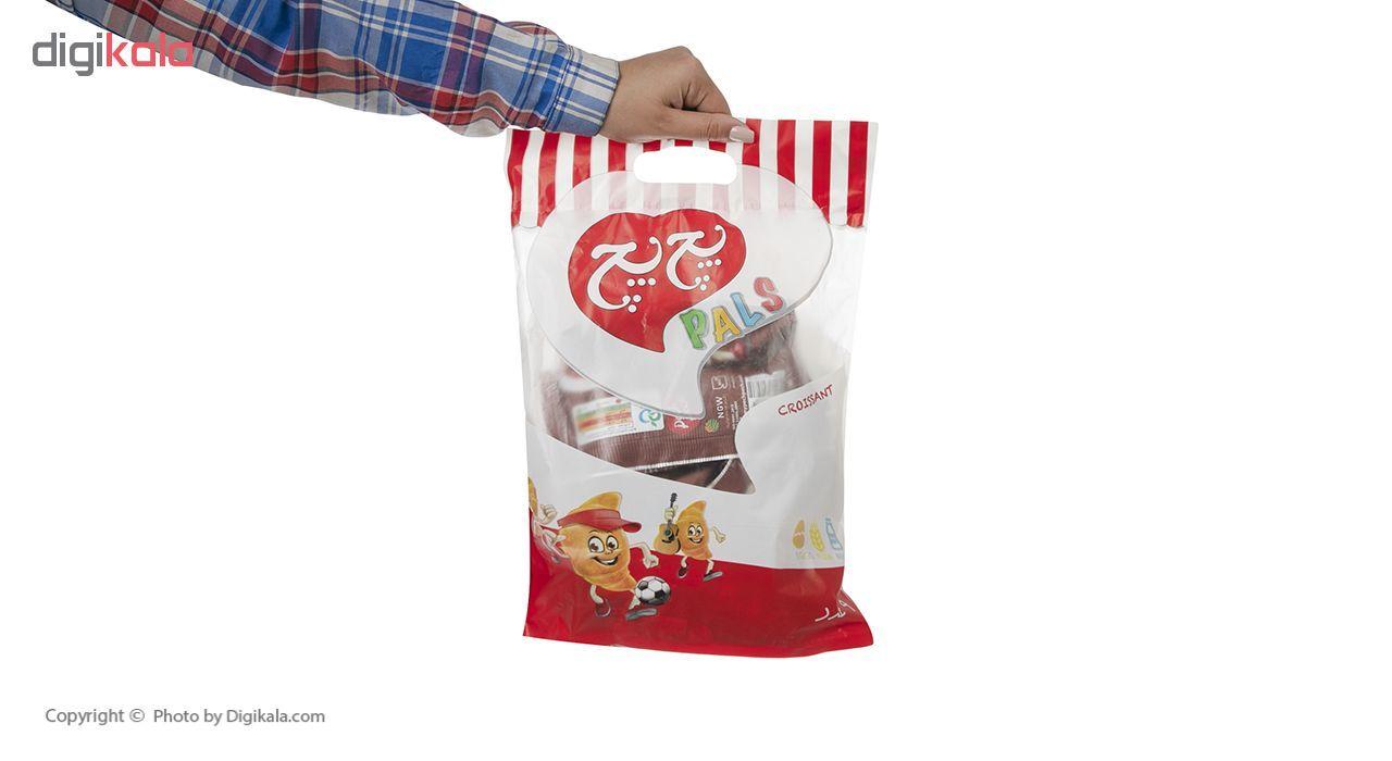 کروسان کاکائو پچ پچ مقدار 30 گرمی بسته 9 عددی main 1 5