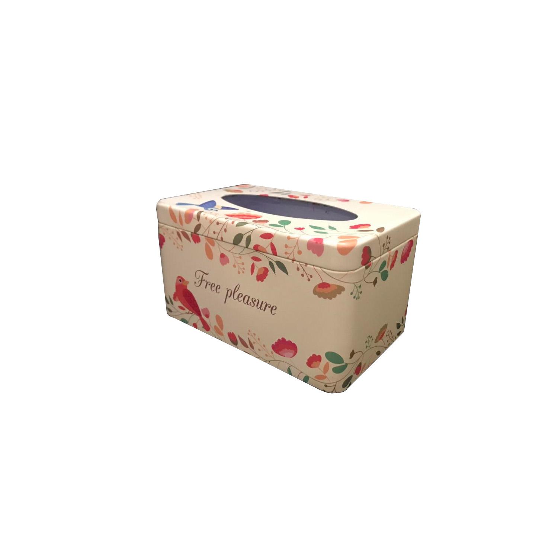 جعبه دستمال کاغذی مدل Flowers 263