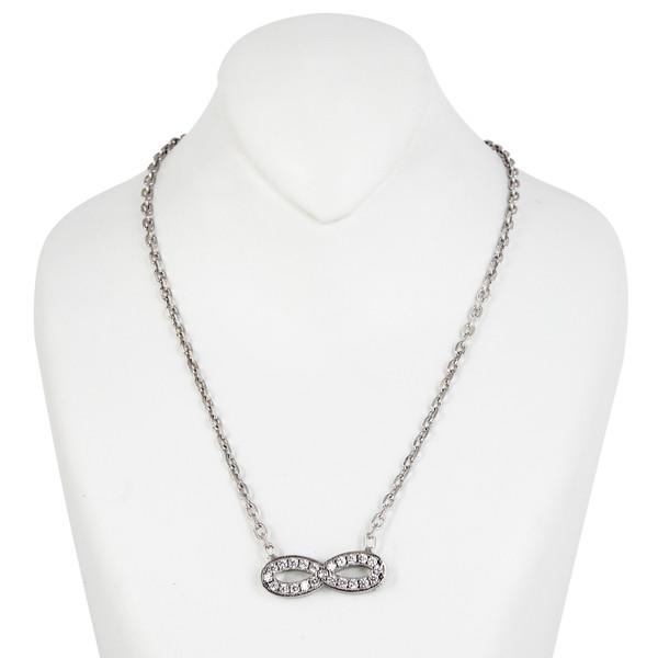 گردنبند نقره زنانه مد و کلاس کد MC-186