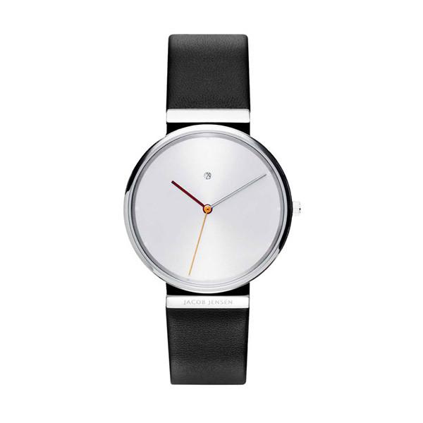 ساعت مچی عقربه ای  مردانه جیکوب جنسن مدل Dimension 840
