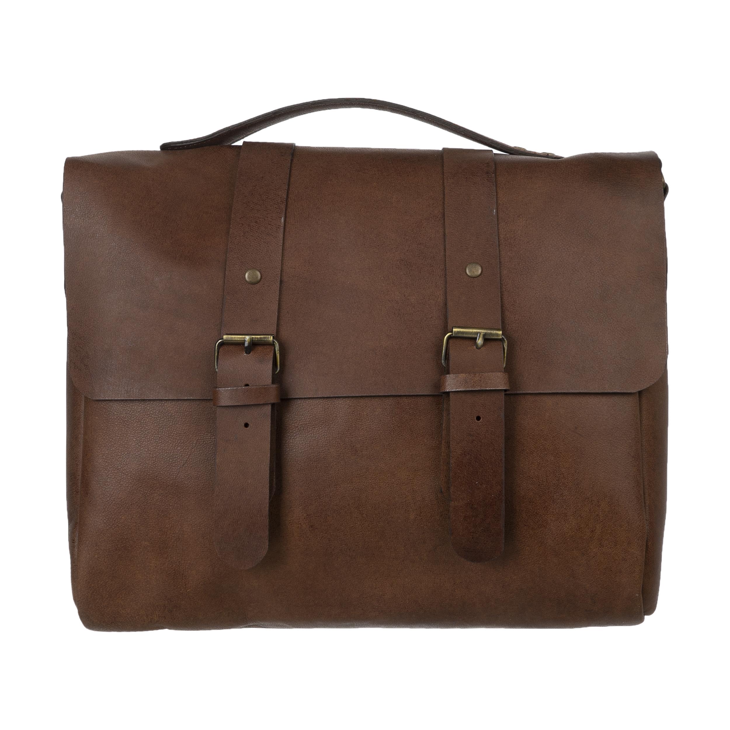 کیف دستی چرم لانکا مدل 1603121-36