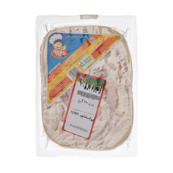 کالباس 90 درصد گوشت مرغ هایزم وزن 250 گرم