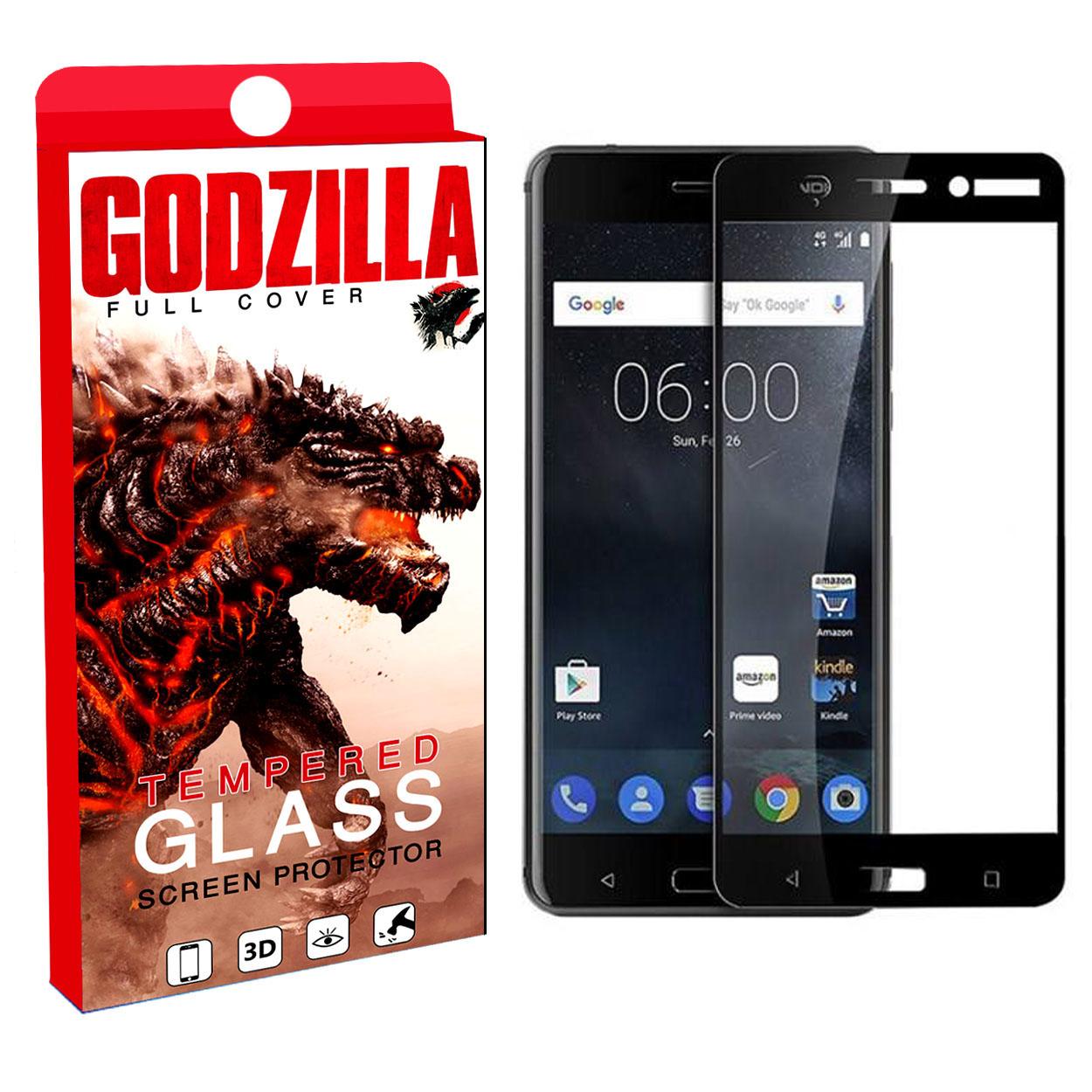 محافظ صفحه نمایش گودزیلا مدل S0S مناسب برای گوشی موبایل نوکیا 6