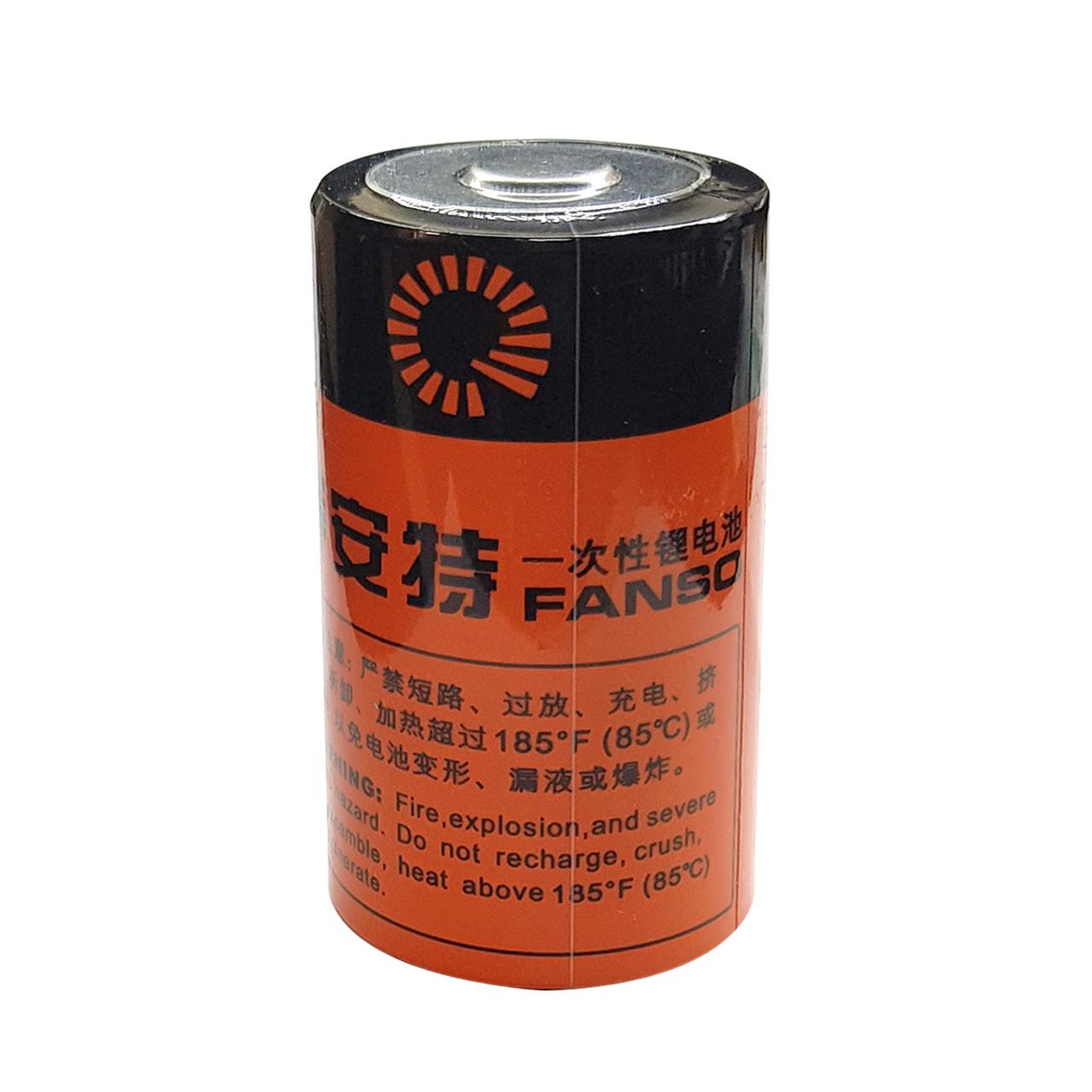 باتری لیتیومی فنسو مدل ER34165M ظرفیت 14000 میلی آمپر ساعت