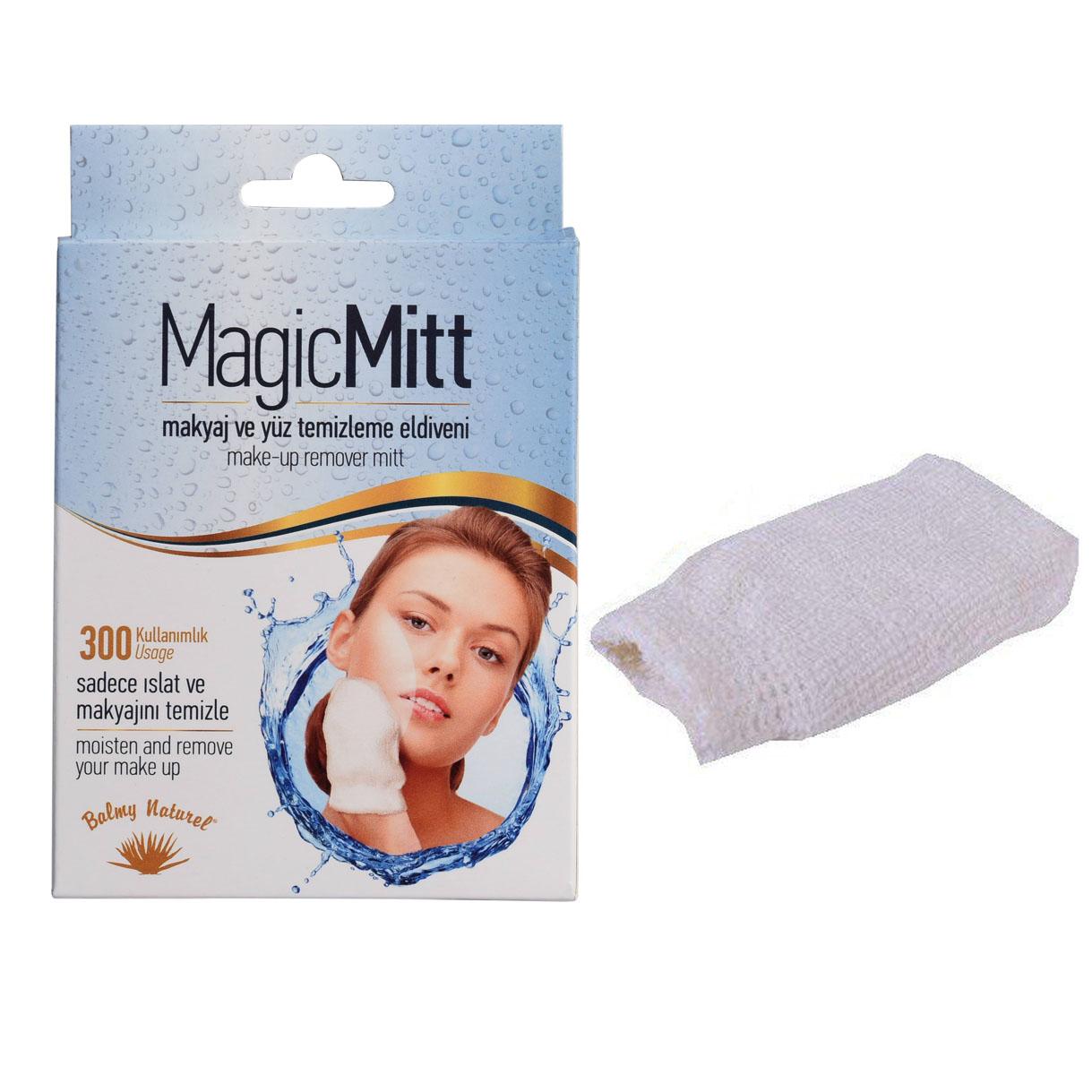 لیف پاک کننده آرایش صورت مجیک میت مدل بالمی