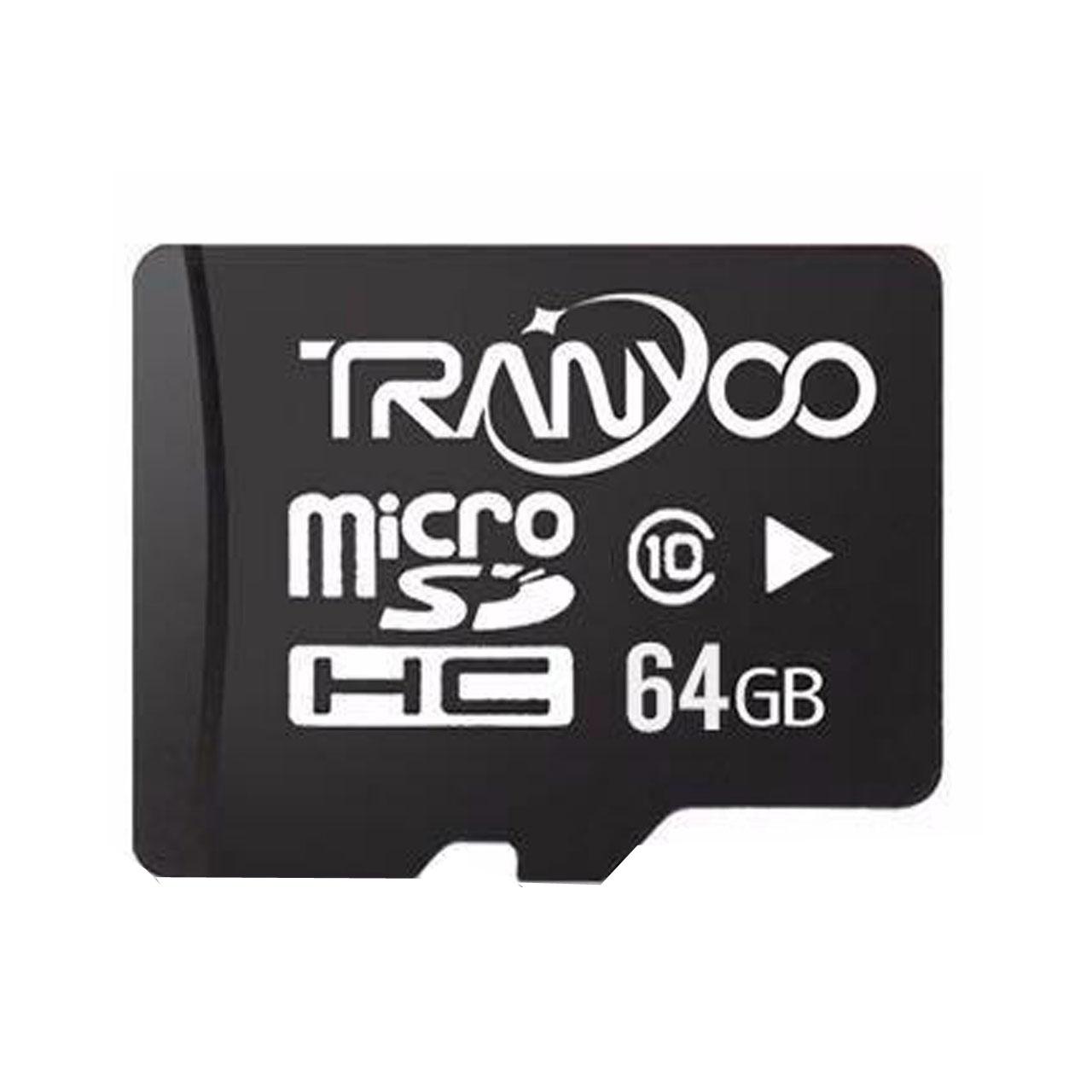 کارت حافظه microSDHC ترانیو مدل LSPEED کلاس 10 استاندارد UHC-I U1 سرعت 30Mbs ظرفیت 64 گیگابایت
