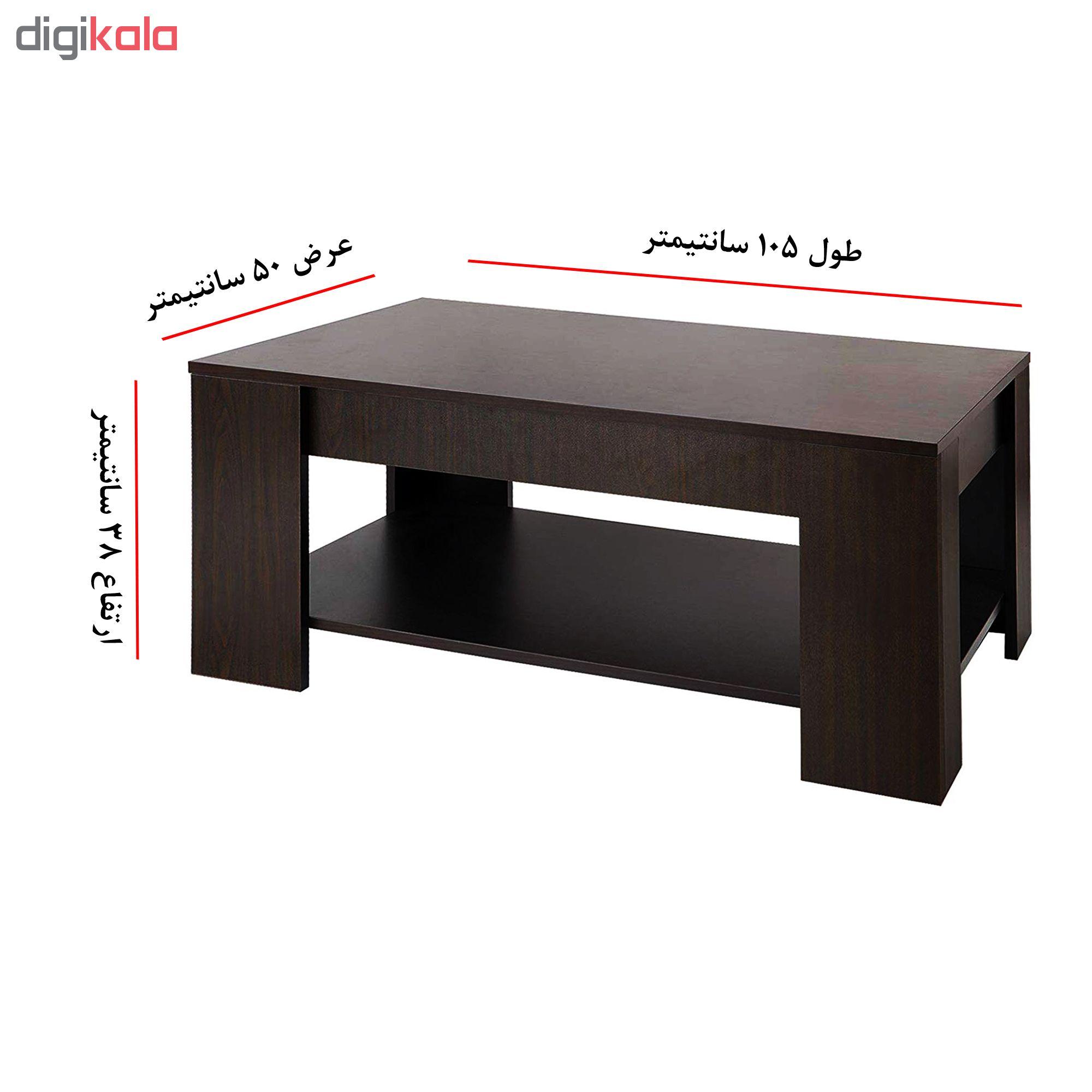 قیمت                      میز جلو مبلی کد BZ1