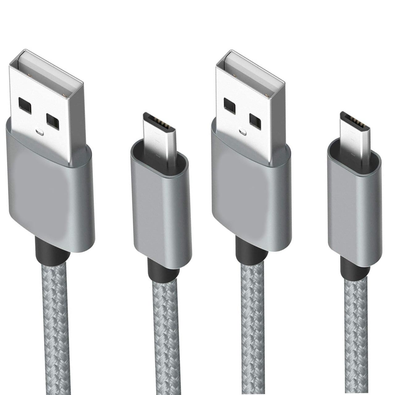 کابل تبدیل USB به microUSB یوجی سو مدل mc-cao24 مجموعه دو عددی
