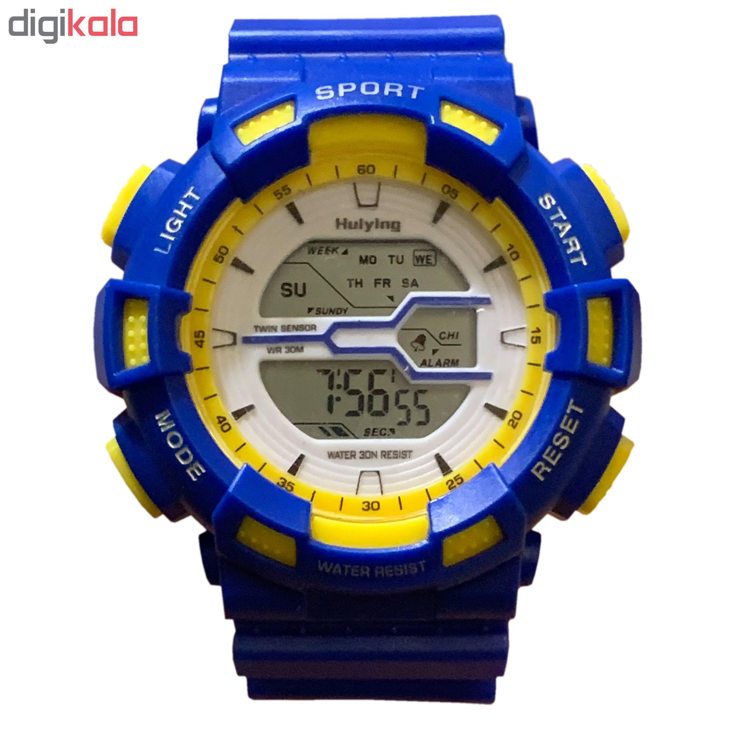 ساعت مچی دیجیتالی مردانه  کد B12             قیمت