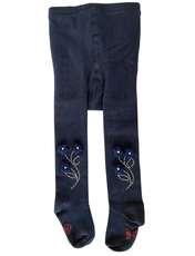 جوراب شلواری دخترانه کد 2200 رنگ سورمه ای -  - 1