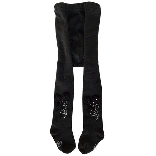جوراب شلواری دخترانه کد 2200 رنگ مشکی