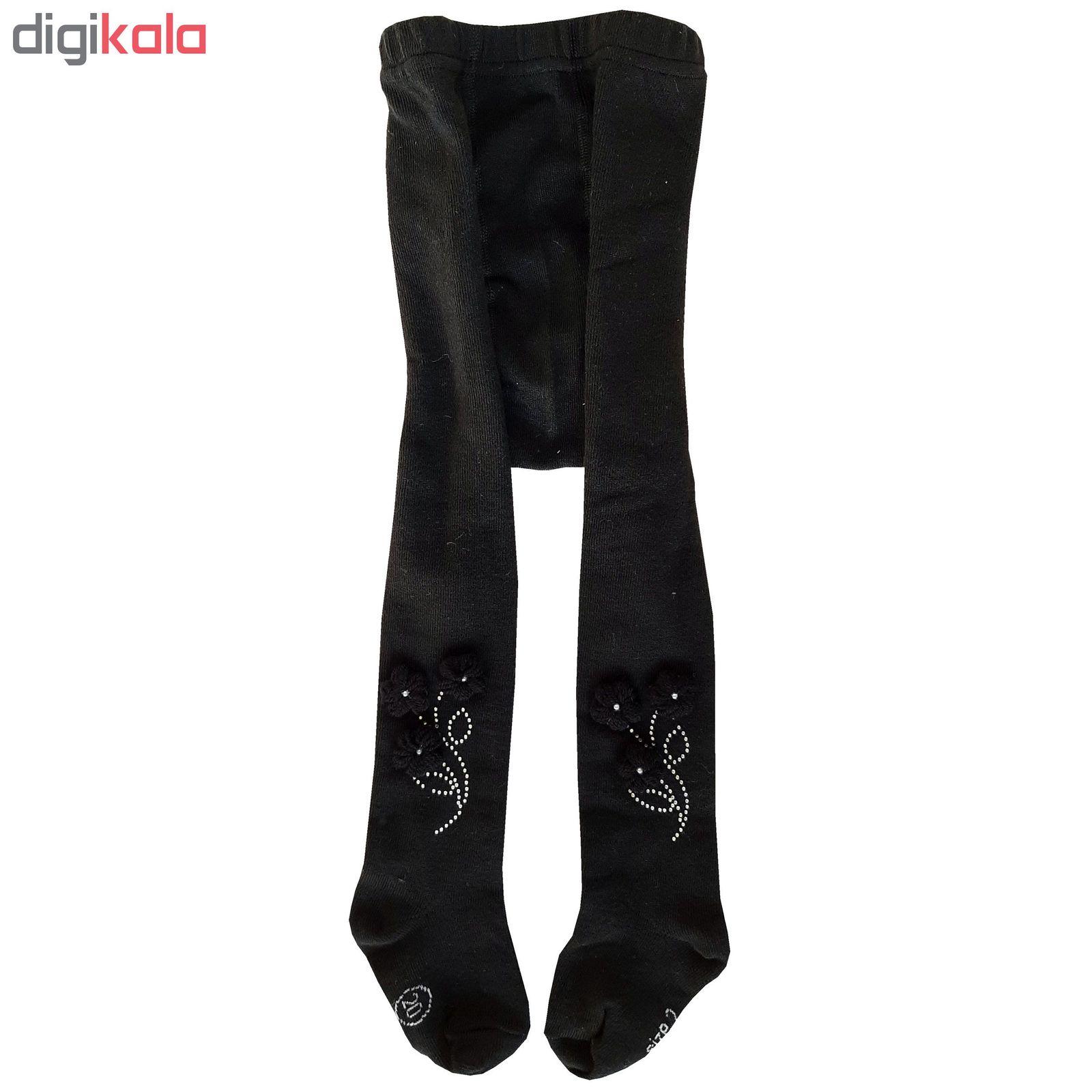 جوراب شلواری دخترانه کد 2200  -  - 3