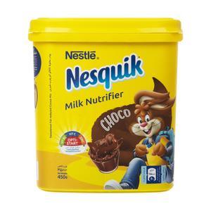 پودر شکلات نسکوئیک نستله مدل مدل Milk Nutrifier مقدار 450 گرم