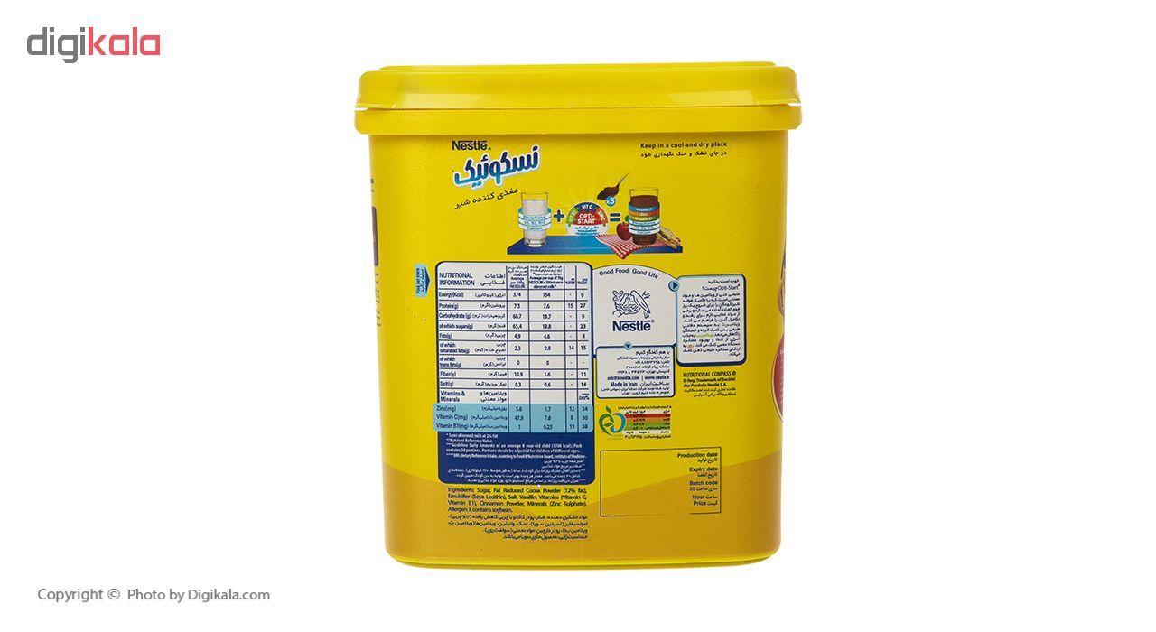 پودر شکلات نسکوئیک نستله مدل Milk Nutrifier مقدار 450 گرم main 1 3