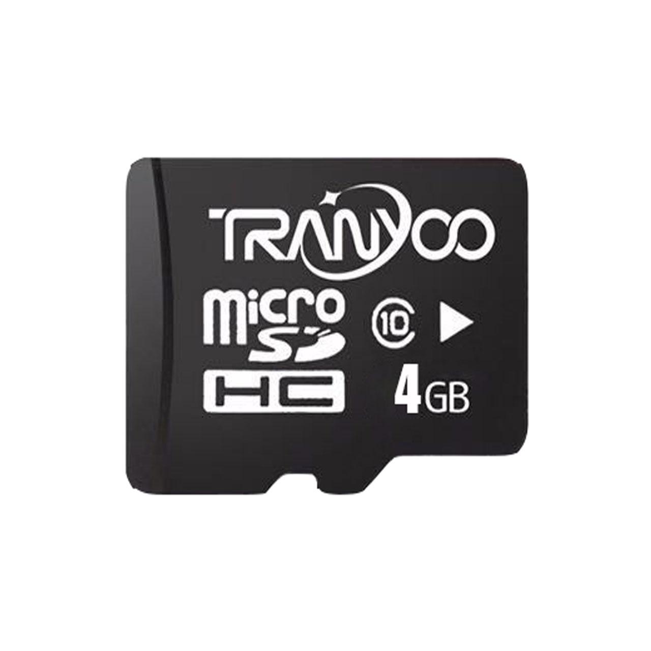 کارت حافظه microSDHC ترانیو مدل LSPEED کلاس 10 استاندارد UHC-I U1 سرعت 30Mbs ظرفیت 4 گیگابایت
