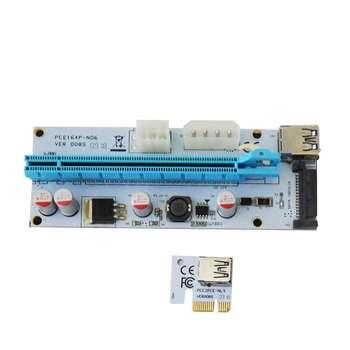 تصویر رایزر کارت گرافیک تبدیل  PCI 1X به 16X مدل 008S
