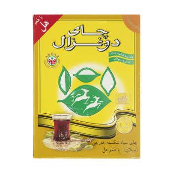 چای سیلان دوغزال با طعم هل مقدار 250 گرم