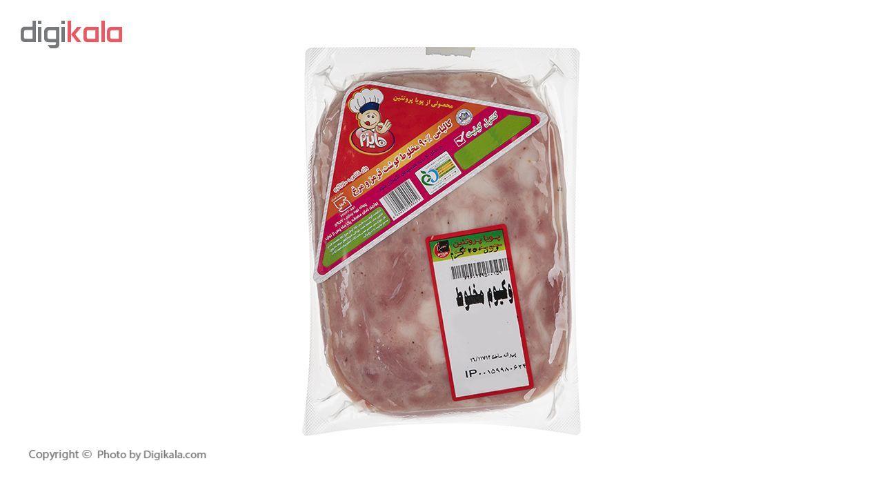 کالباس 90 درصد گوشت قرمز و مرغ هایزم وزن 250 گرم main 1 1