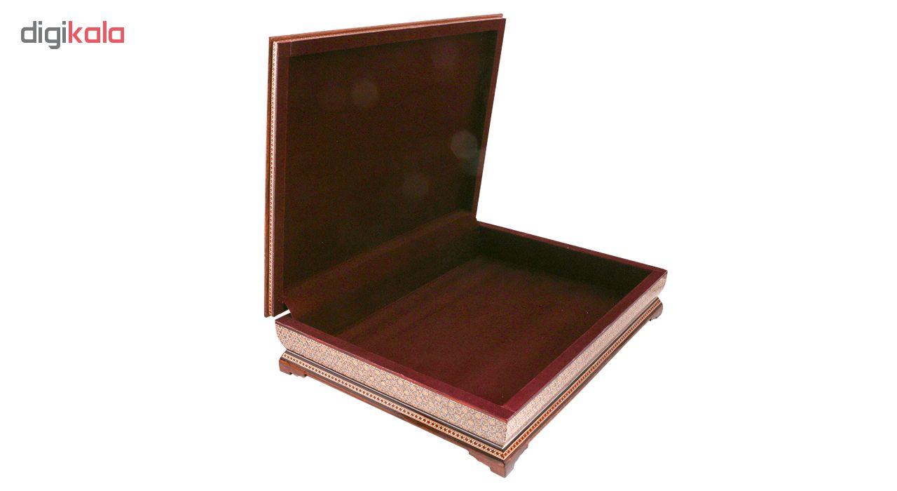 خرید                      جعبه قرآن خاتم کاری کد 978