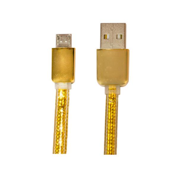 کابل تبدیل USB به microUSB اسکار مدل V-c201 طول 2 متر