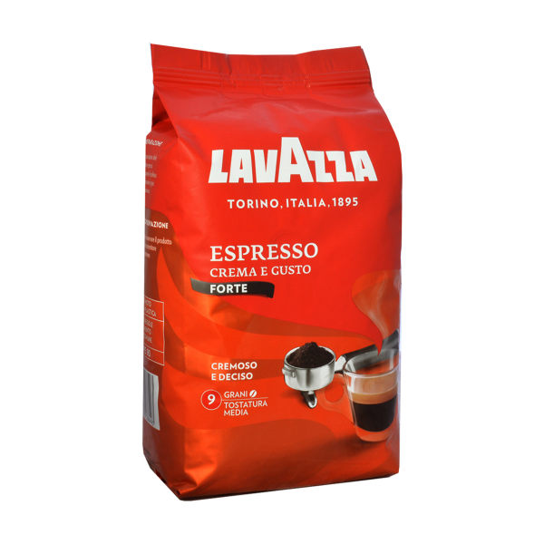 قهوه دان لاواتزا Espresso Crema e Gusto  مقدار 1 کیلو گرم