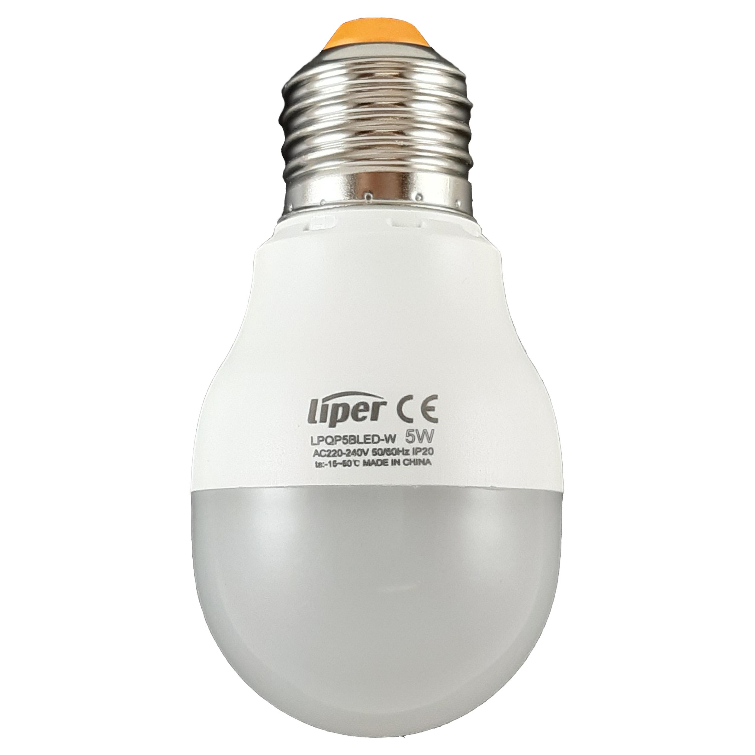 لامپ ال ای دی 5 وات لیپر مدل LPQP5CLED پایه E27