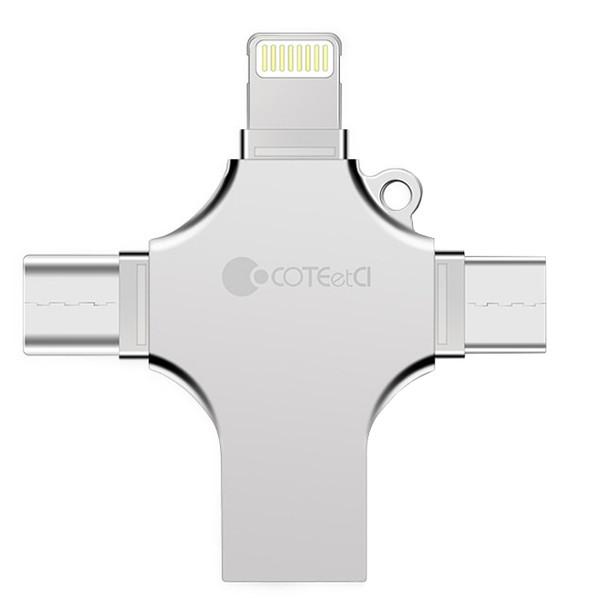 فلش مموری چند کاره کوتتسی مدل CS5129 ظرفیت 128 گیگابایت