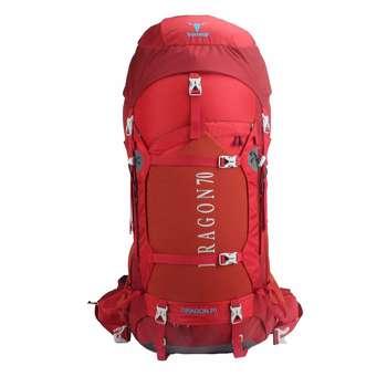 کوله پشتی کوهنوردی 70 لیتری پکینیو مدل dragon