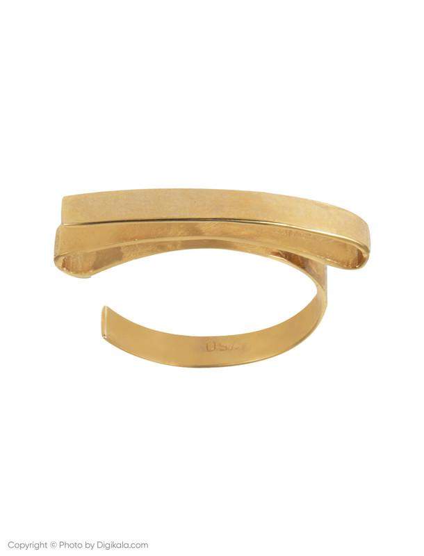 انگشتر طلا 18 عیار زنانه زرمان مدل ZMR0321