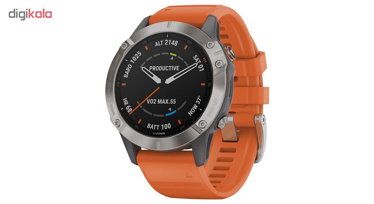 ساعت مچی هوشمند گارمین مدل FENIX 6 010-02158-14