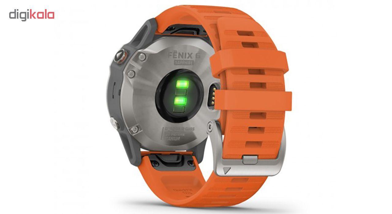 ساعت مچی هوشمند گارمین مدل FENIX 6 010-02158-14 main 1 2