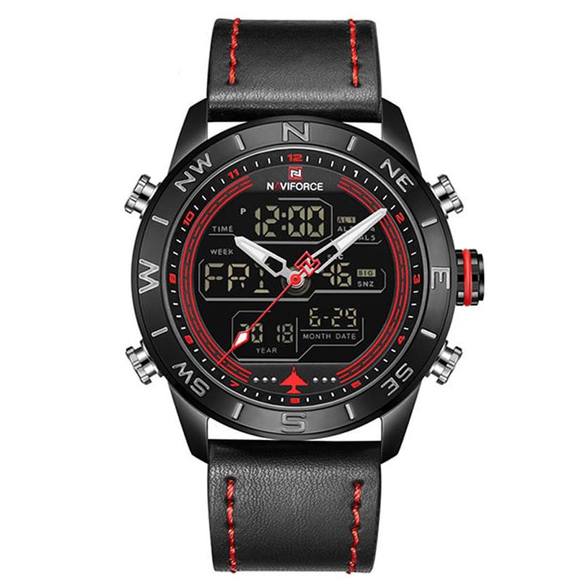 کد تخفیف                                      ساعت مچی دیجیتال مردانه نیوی فورس کد NF9144M - ME-GHER