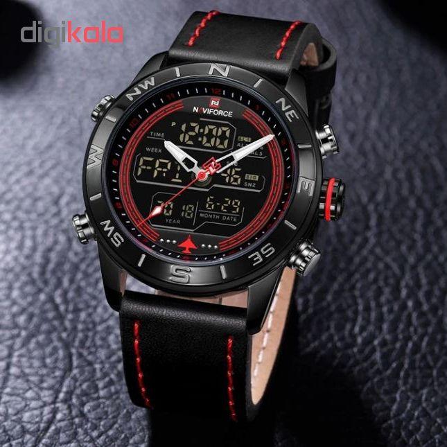 ساعت مچی دیجیتال مردانه نیوی فورس کد NF9144M - ME-GHER