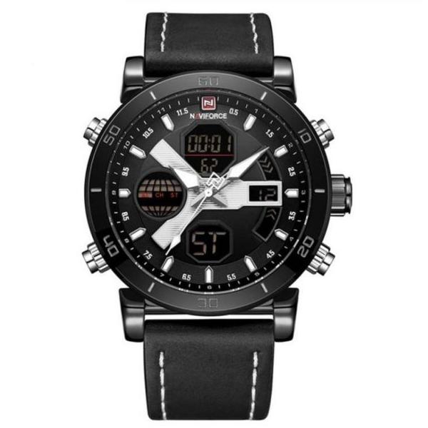 کد تخفیف                                      ساعت مچی دیجیتال مردانه نیوی فورس کد NF9132M - ME-SE